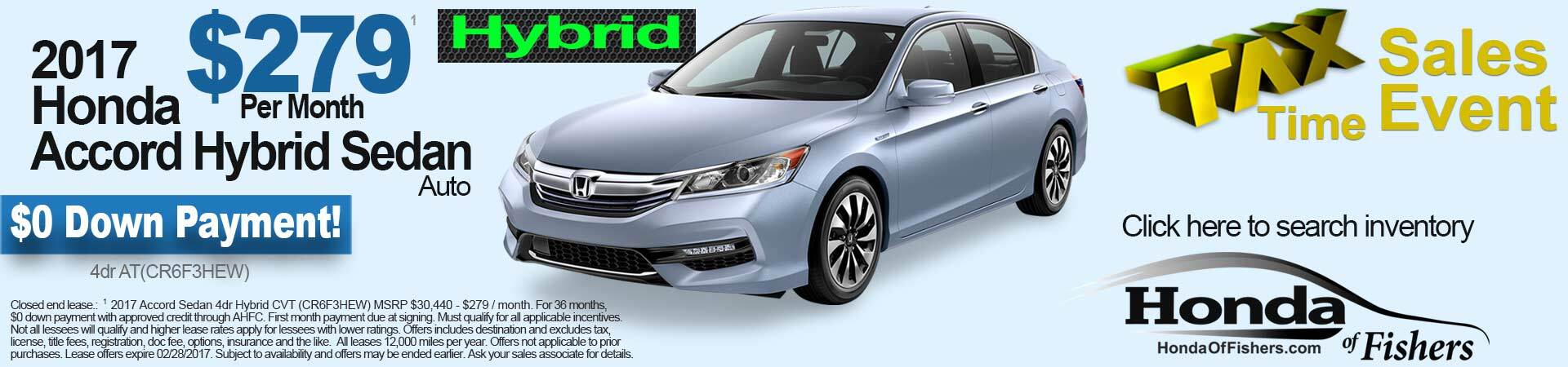 Honda Accord Hybrid in Indianapolis, IN