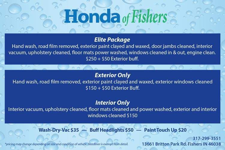 Honda of Fishers Detail