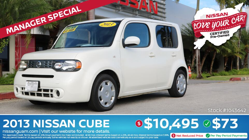 2013 Nissan Cube 1.8S