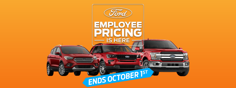 Employee Pricing F-150