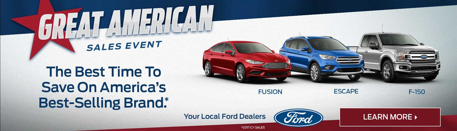New Ford Fusion Escape and F-150