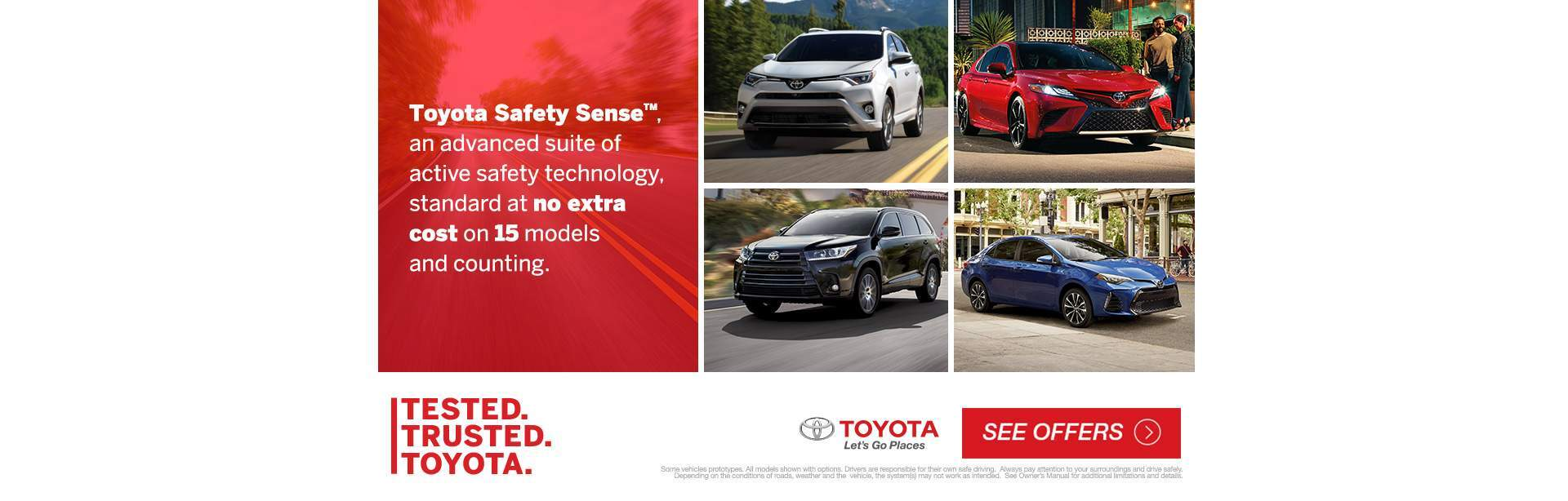 Tested trusted toyota lineup