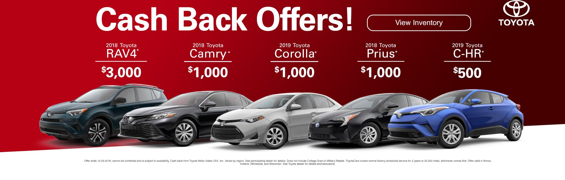 Cash Back Offers