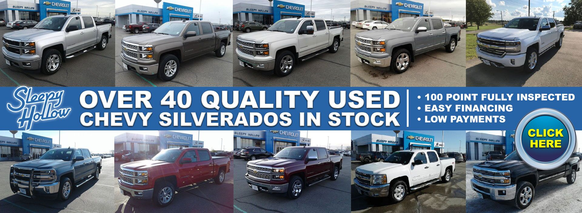Used Chevy Silverados