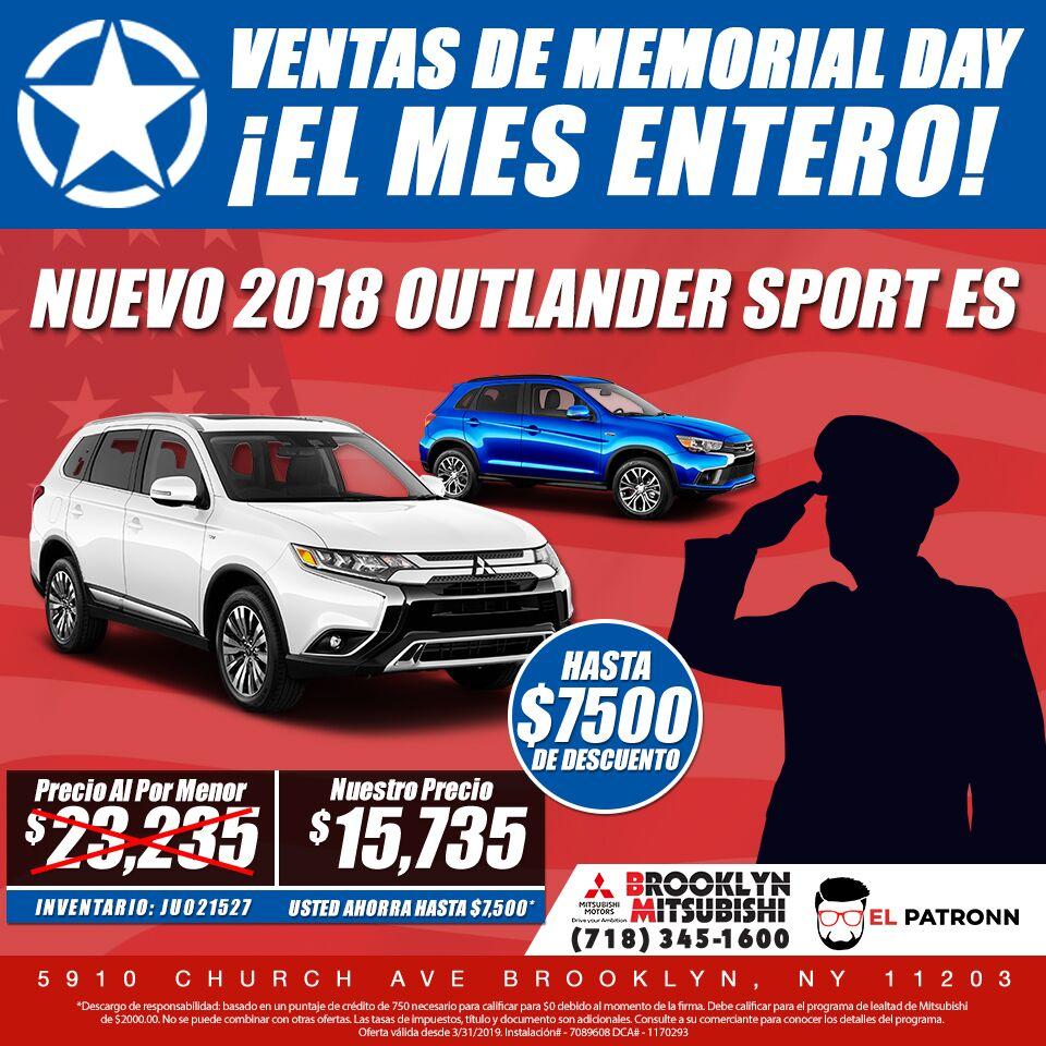 2019 Mitsubishi Outlander Sport LE