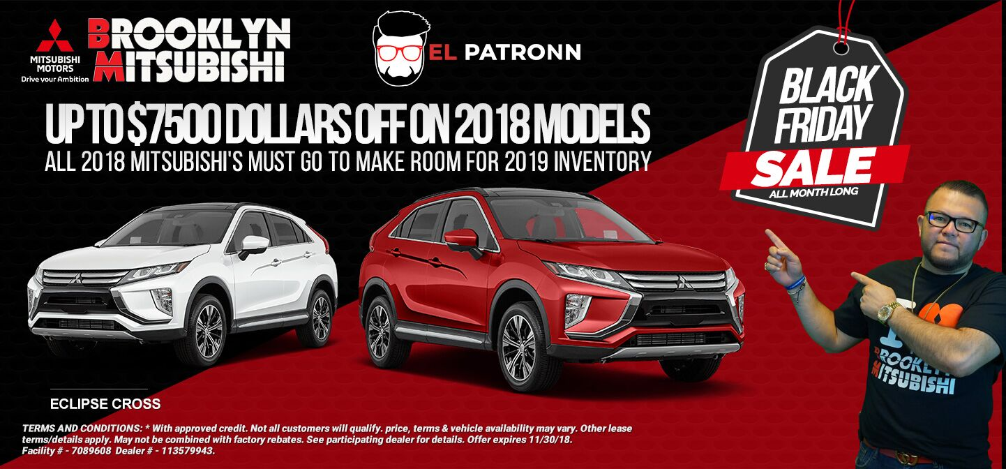 Black Friday Sales on Eclipse Cross