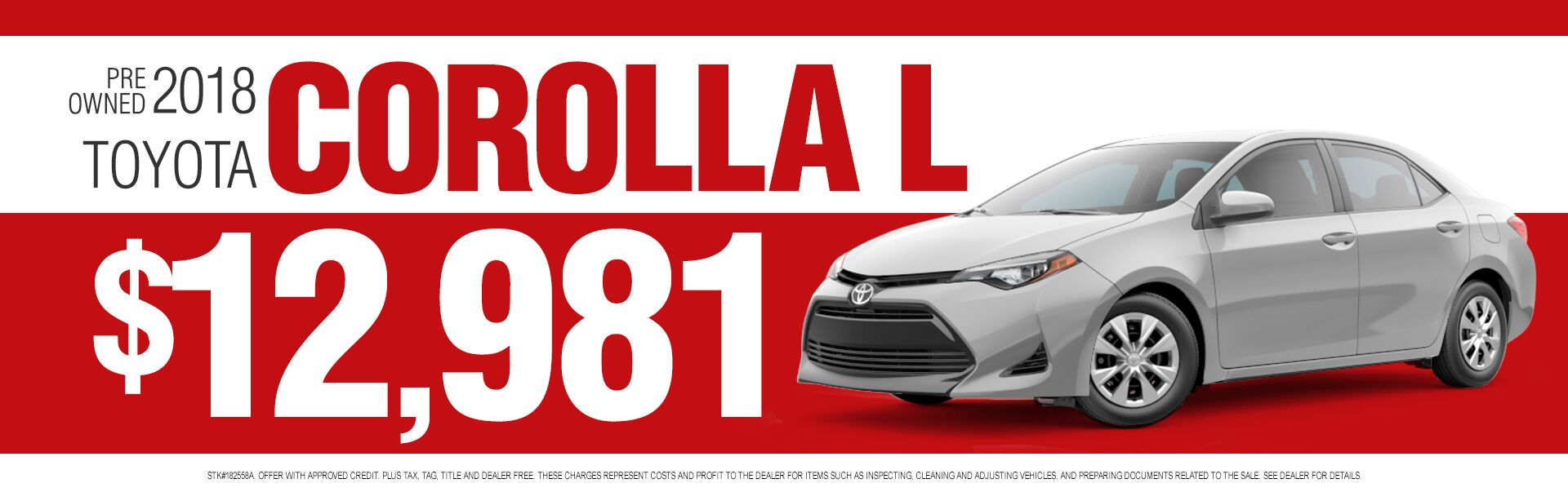 Pre Owned Corolla
