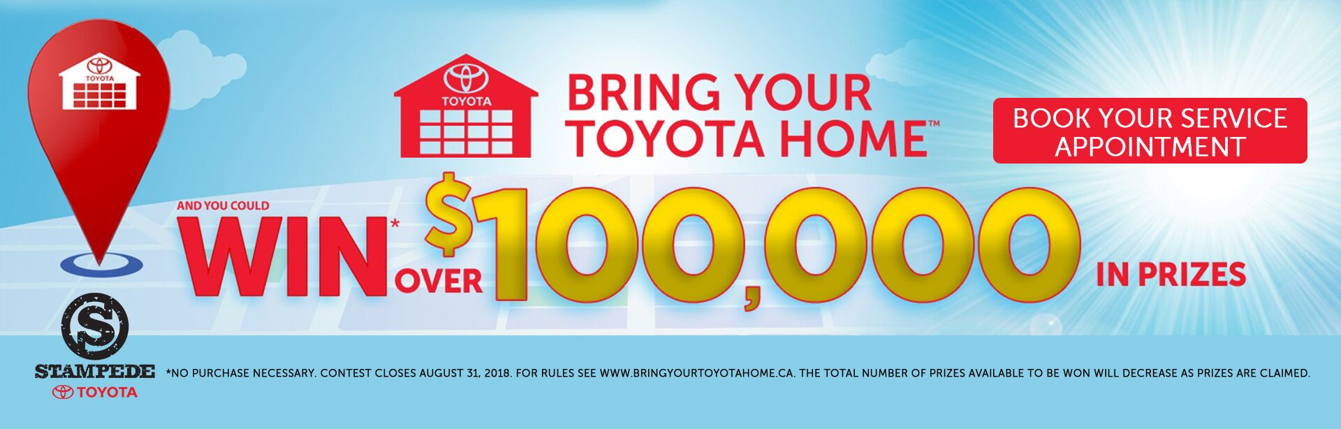 Bring Your Toyota Home