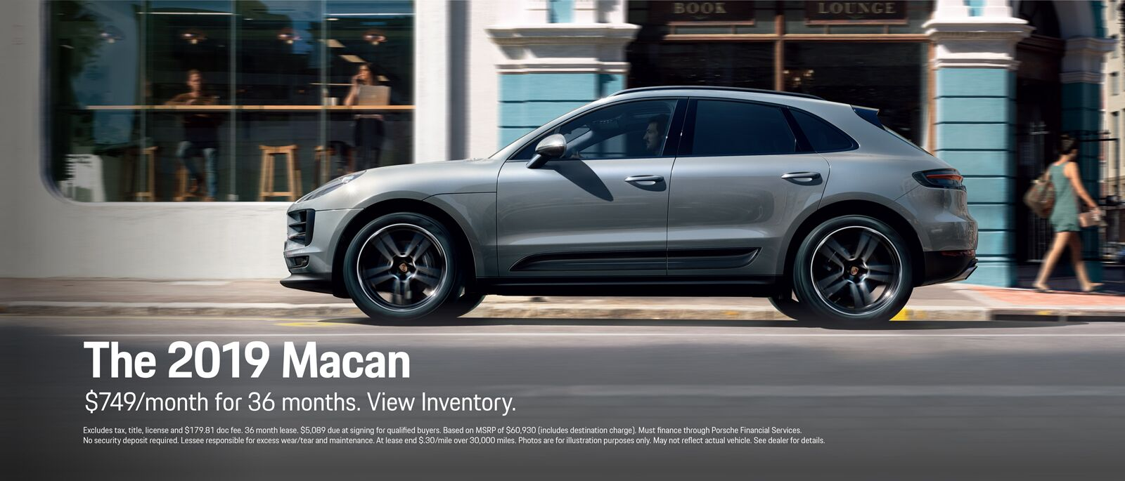 2019 Panamera Macan Lease Offer