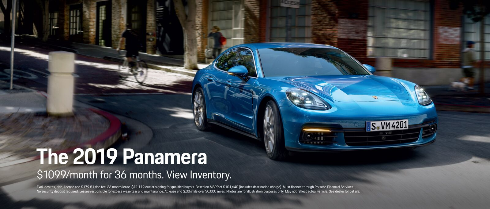 2019 Panamera Lease Offer