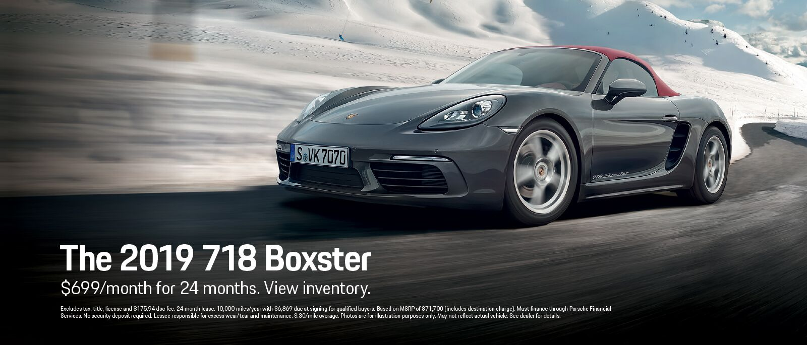 The 2019 718 Boxster