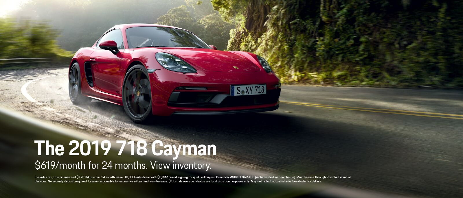 The 2019 718 Cayman