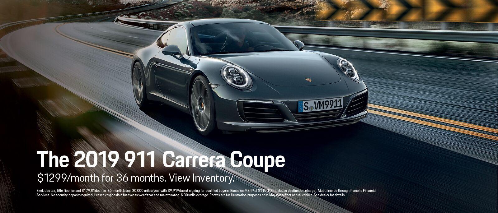 New Porsche 911 Carrerra Coupe|