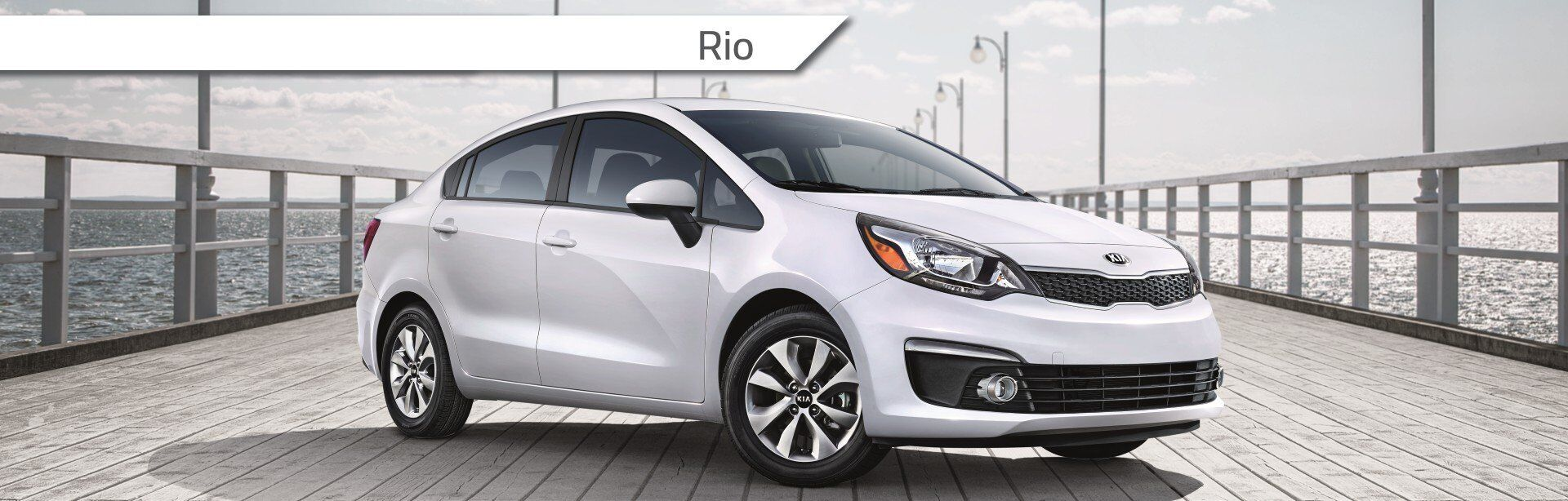 New Kia Rio at John L Sullivan's Roseville Kia