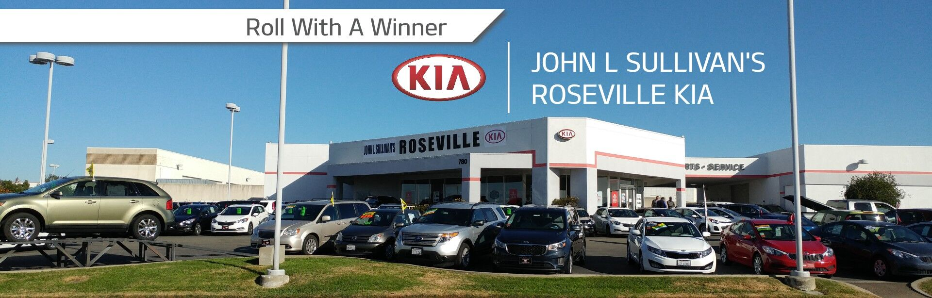 Welcome to John L Sullivan's Roseville Kia
