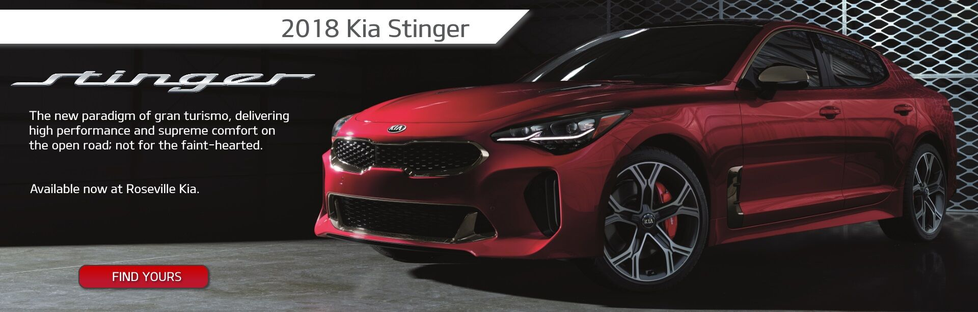 2018 Stinger at Roseville Kia