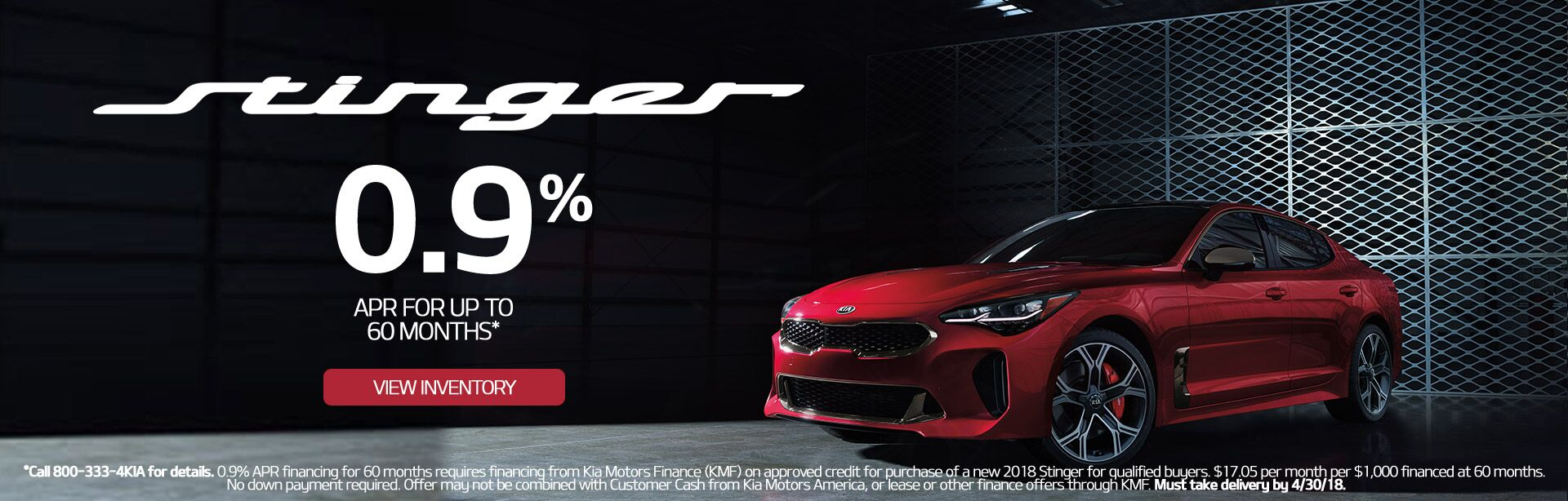 Stinger 0.9% for 60