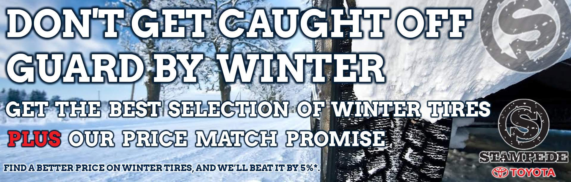 Winter Tire Price Match Promise