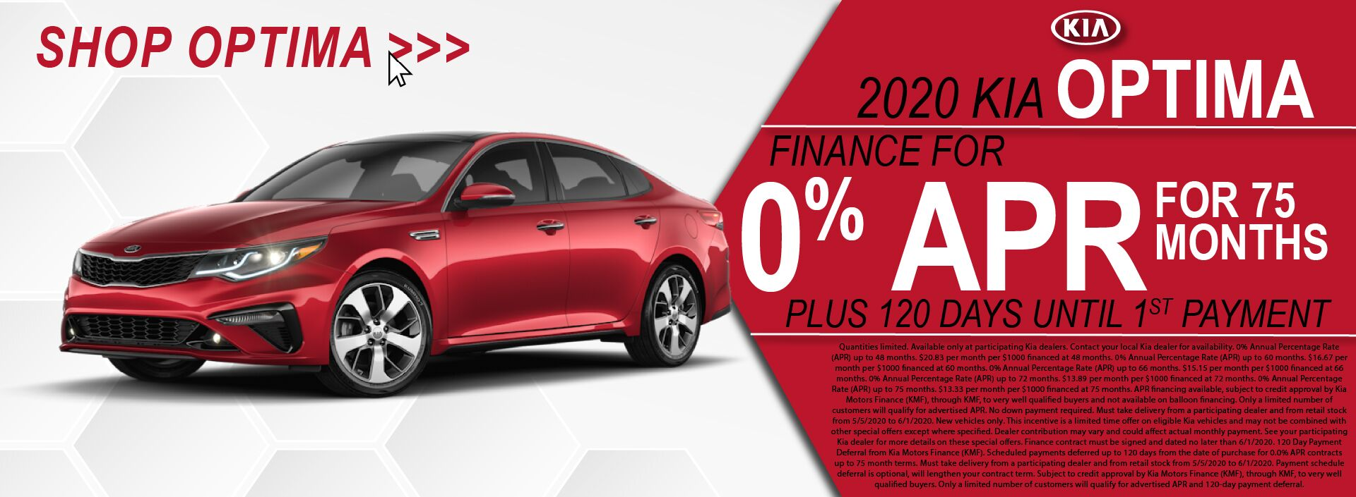 Bill Bryan Kia Optima 0% APR