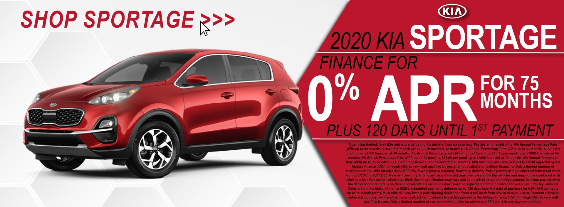 Bill Bryan Kia Sportage 0% APR