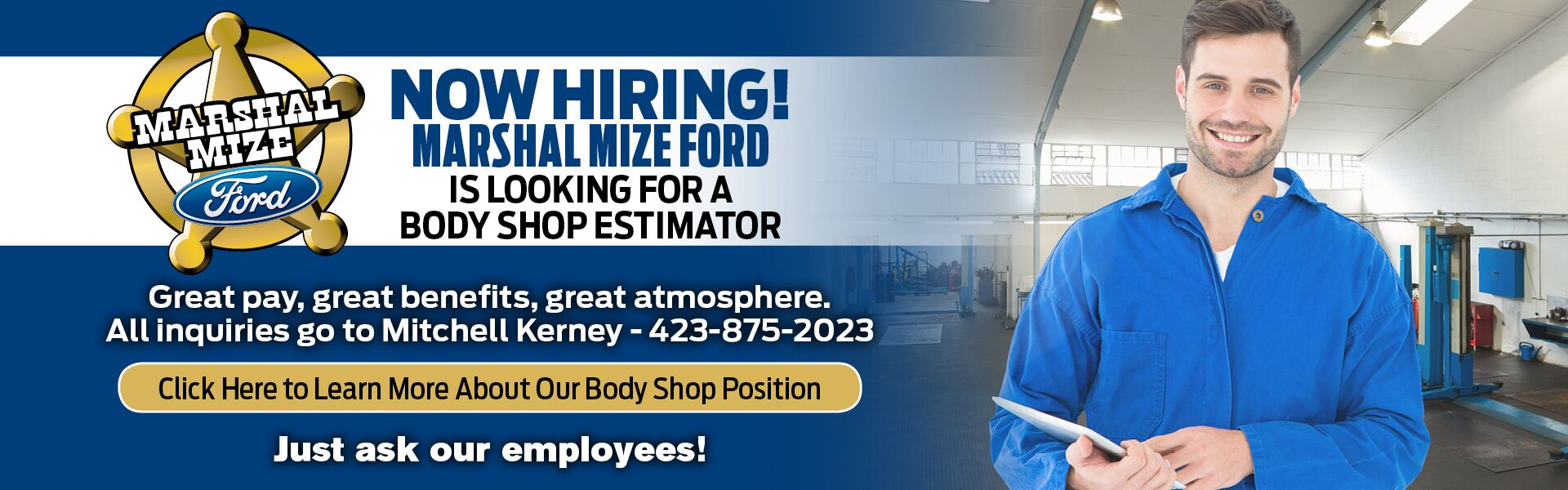 Body Shop Employment