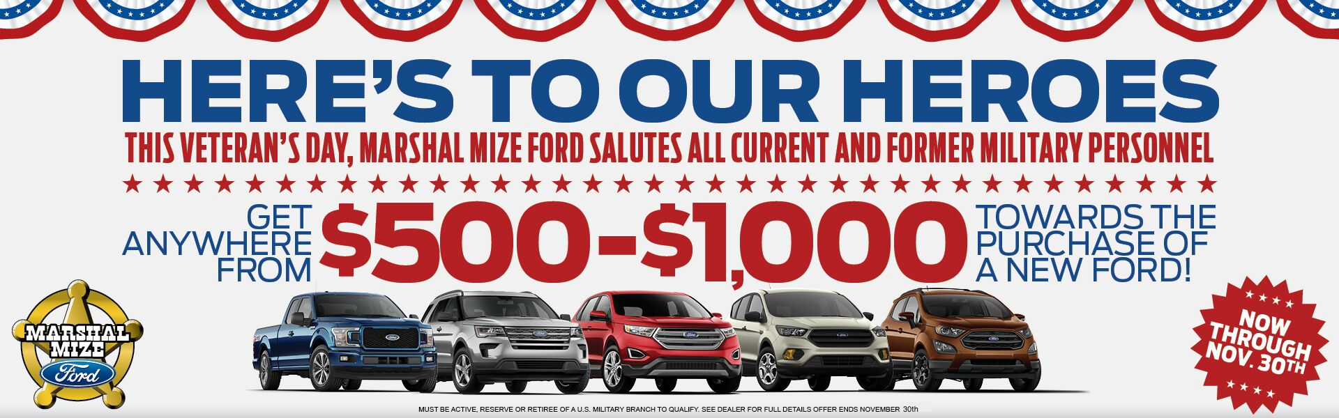 Ford Dealership Chattanooga Tn Used Cars Marshal Mize Ford