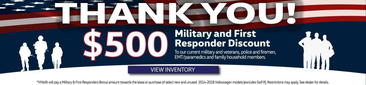 Military and First Responder Offer