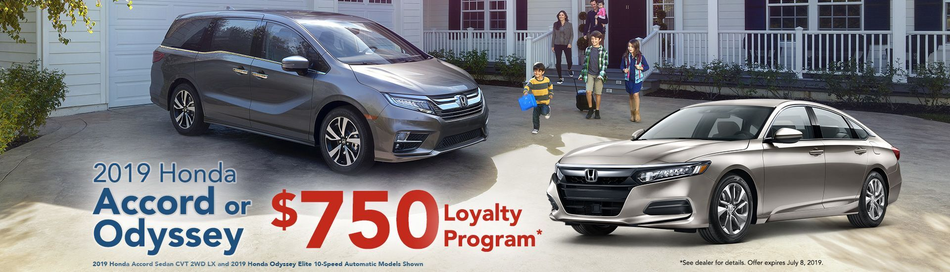 2019 Honda Loyalty Program