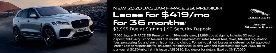 F-PACE OFFER