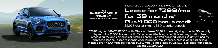 2020 E-PACE Offer