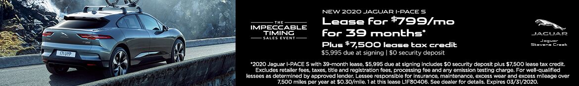 I-PACE Offer