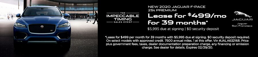 F-PACE Lease Offer