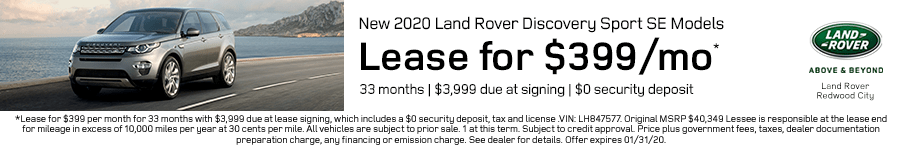 Discovery Sport SE Lease Offer