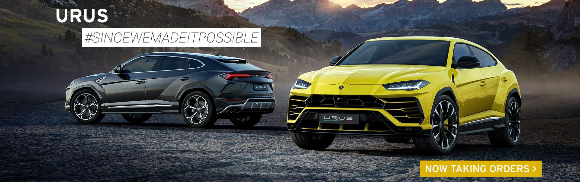 Lamborghini Urus Available