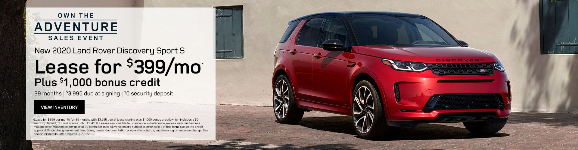 February Discovery Sport