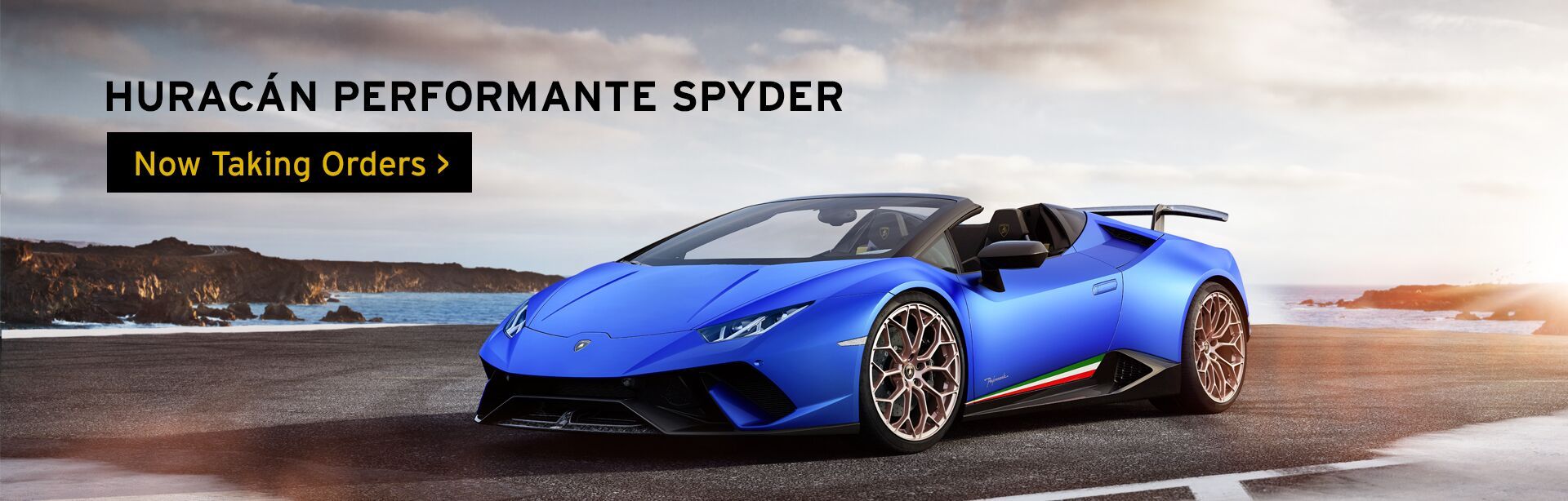 Huracan Performante Spyder - Now Taking Orders