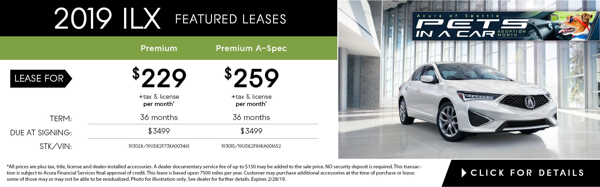 ILX Feb. Featured Lease