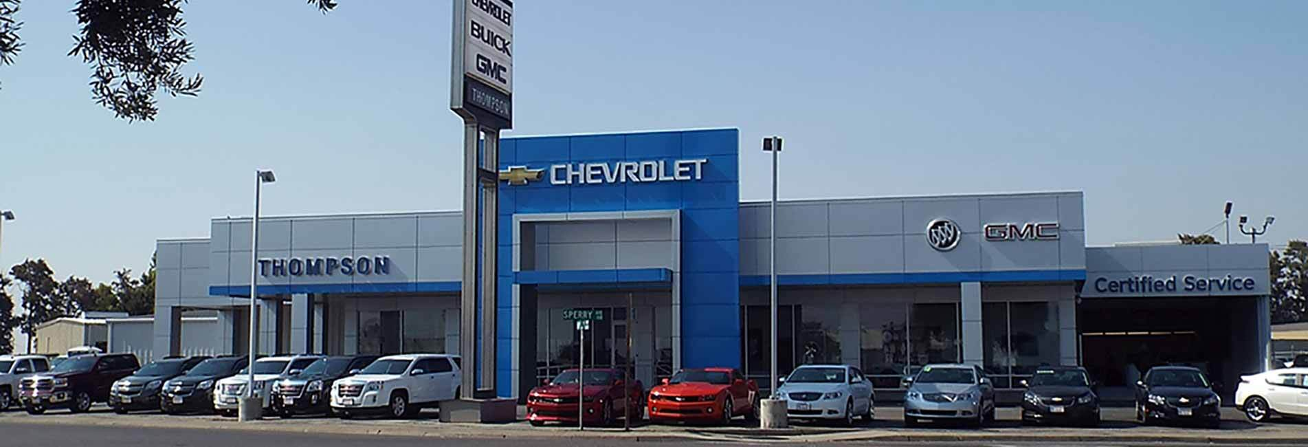 Welcome to Thompson Chevrolet Buick GMC