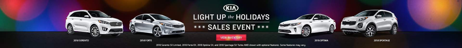 Kia Light Up The Holidays Year End Sales Event