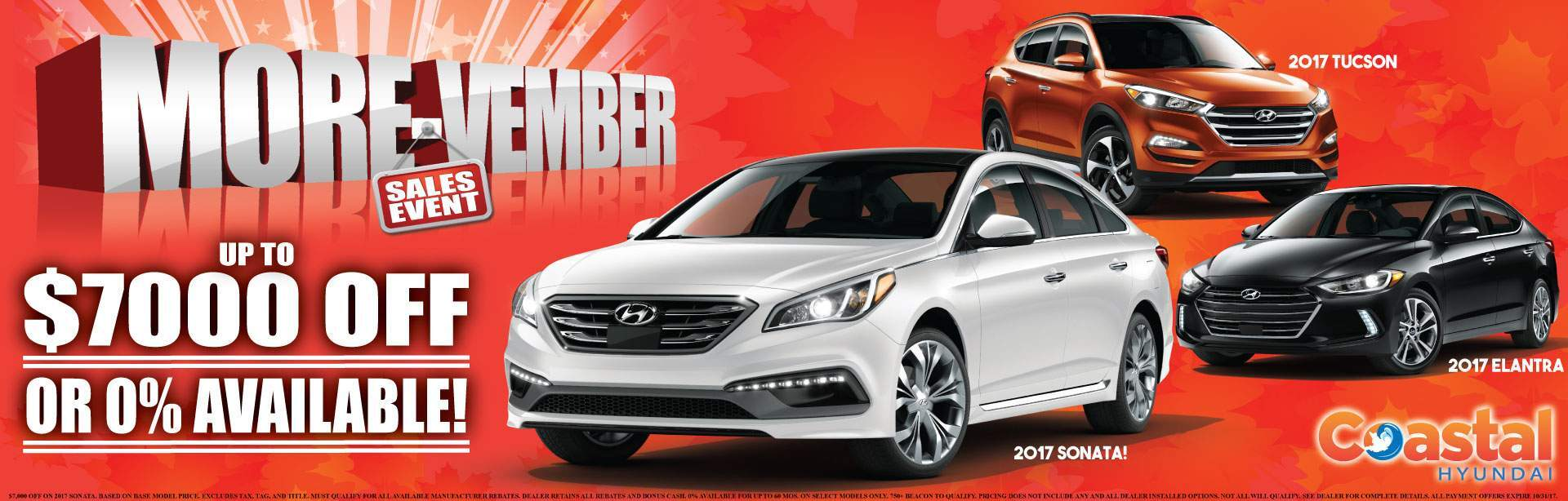 November Discount Coastal Hyundai