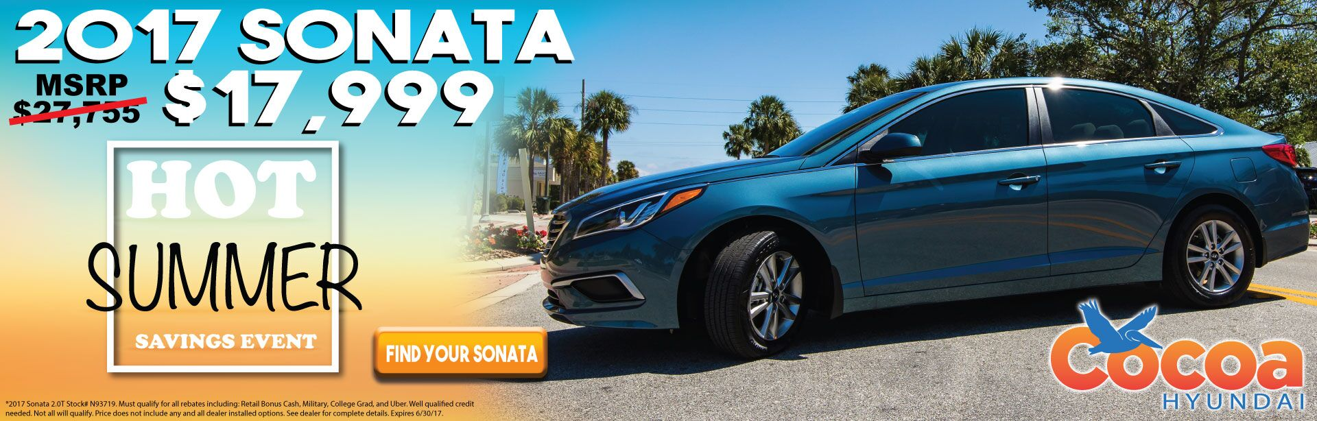 Sonata Summer Discount