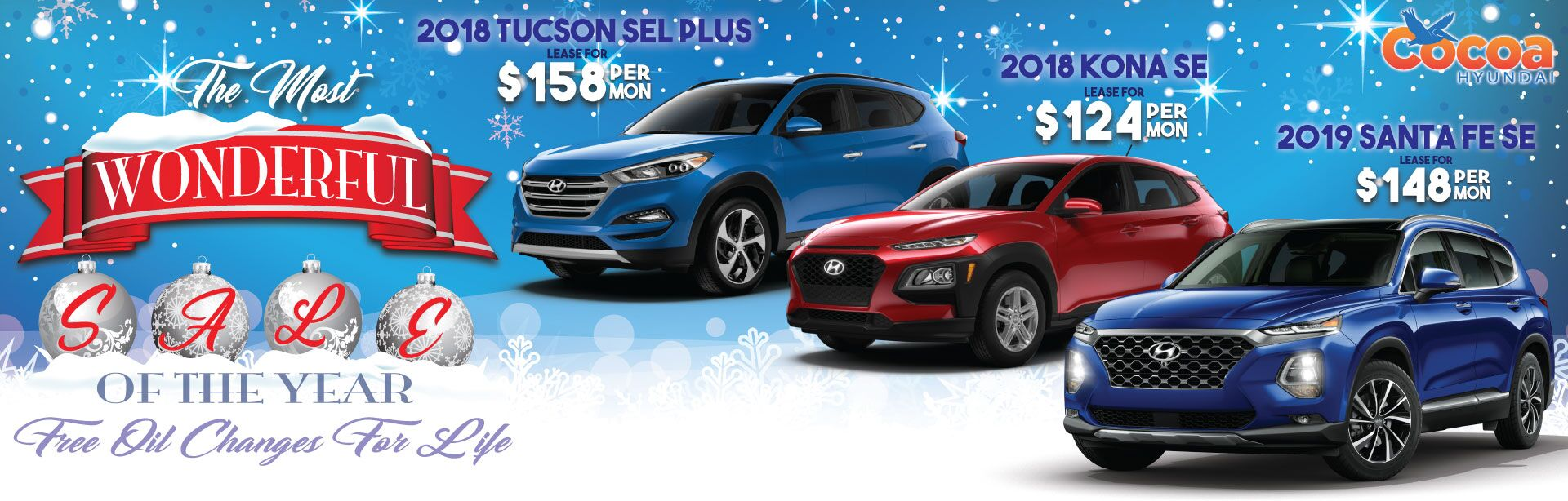 SUV WINTER SALE