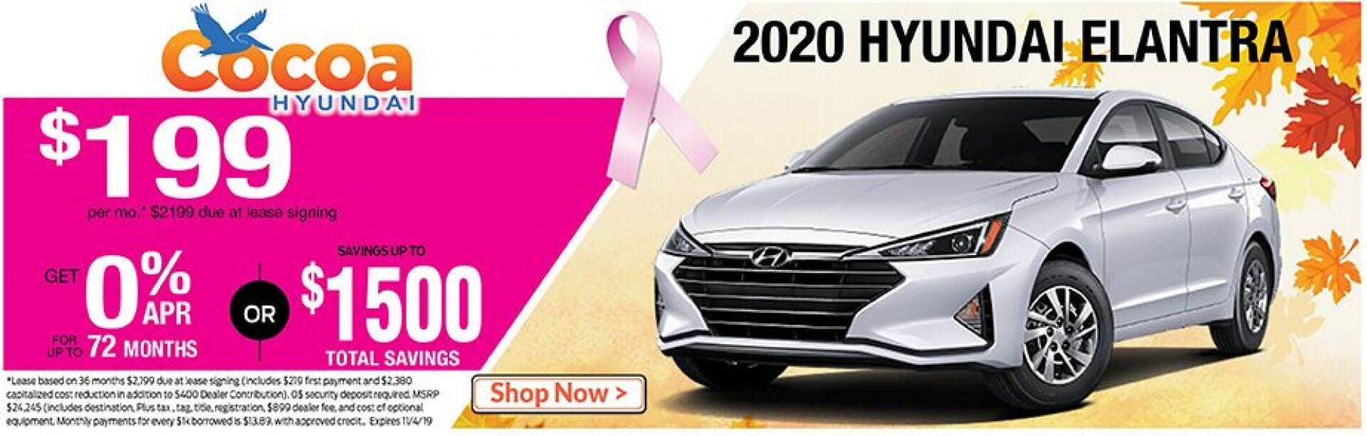 2020 Hyundai Elantra October