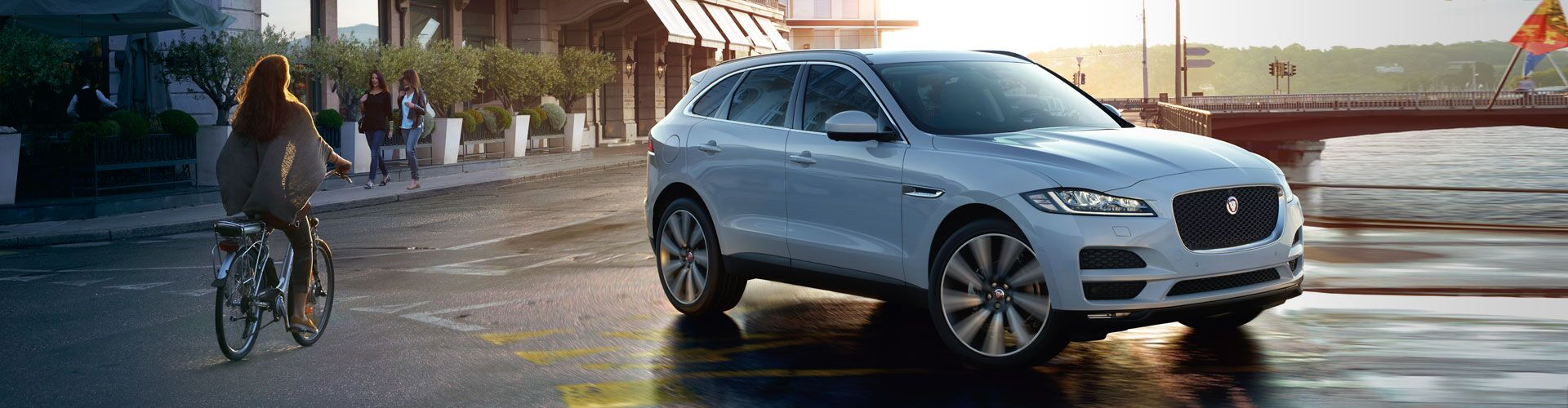 New Jaguar F-PACE at Jaguar Ventura