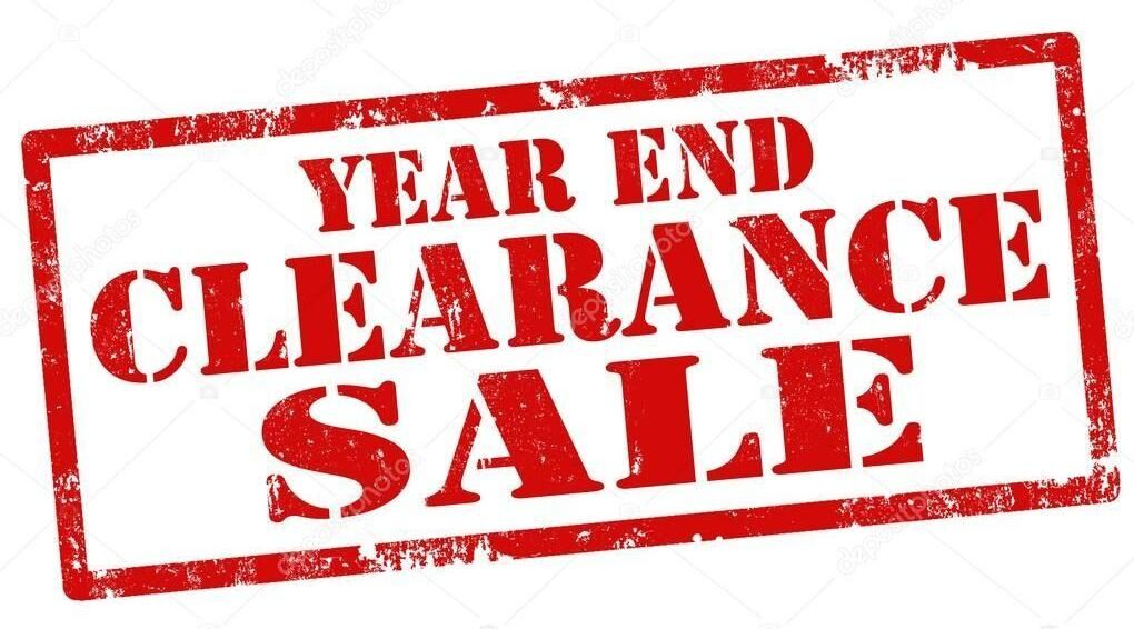 2018 Year End Clearance Event