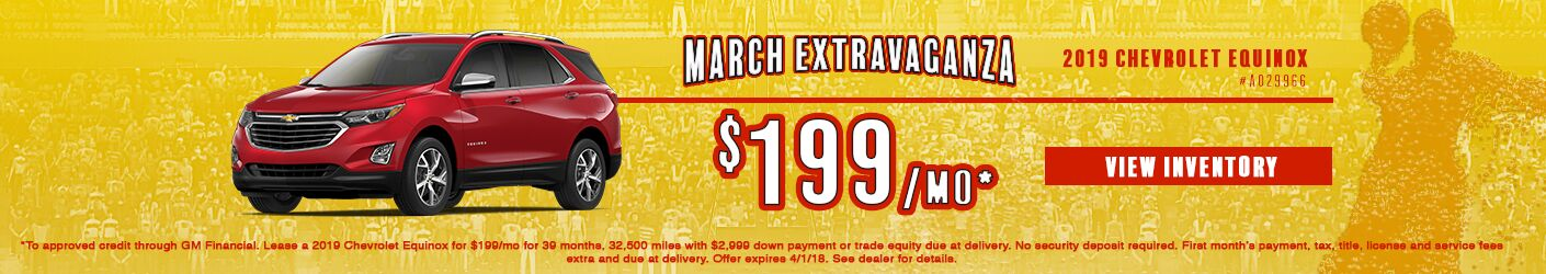 chevy equinox march