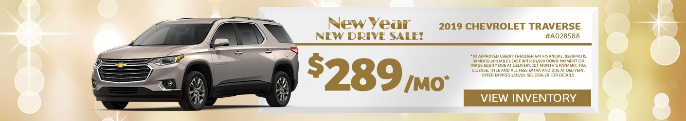 NYNDS 2019 Chevrolet Traverse