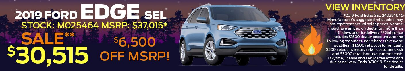 September Ford Edge