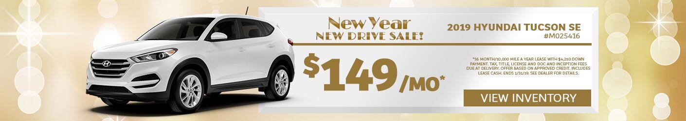 NYNDS 2019 Hyundai Tucson SE