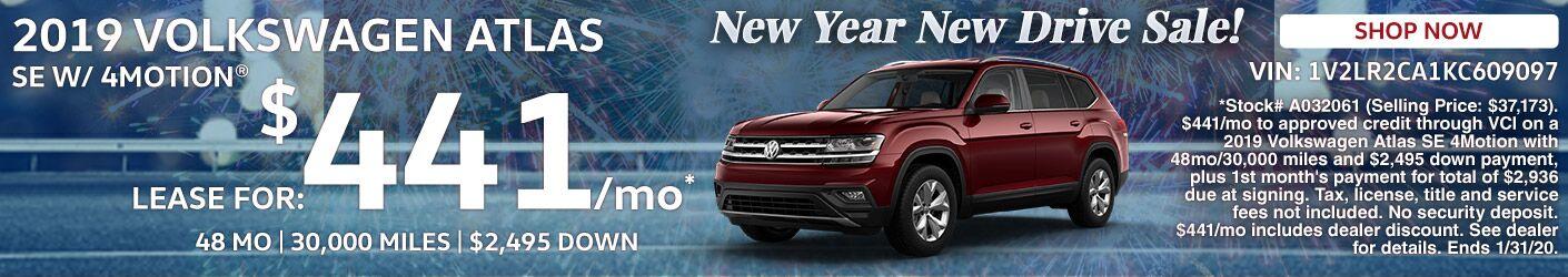 SRP Banner - 2019 VW Atlas